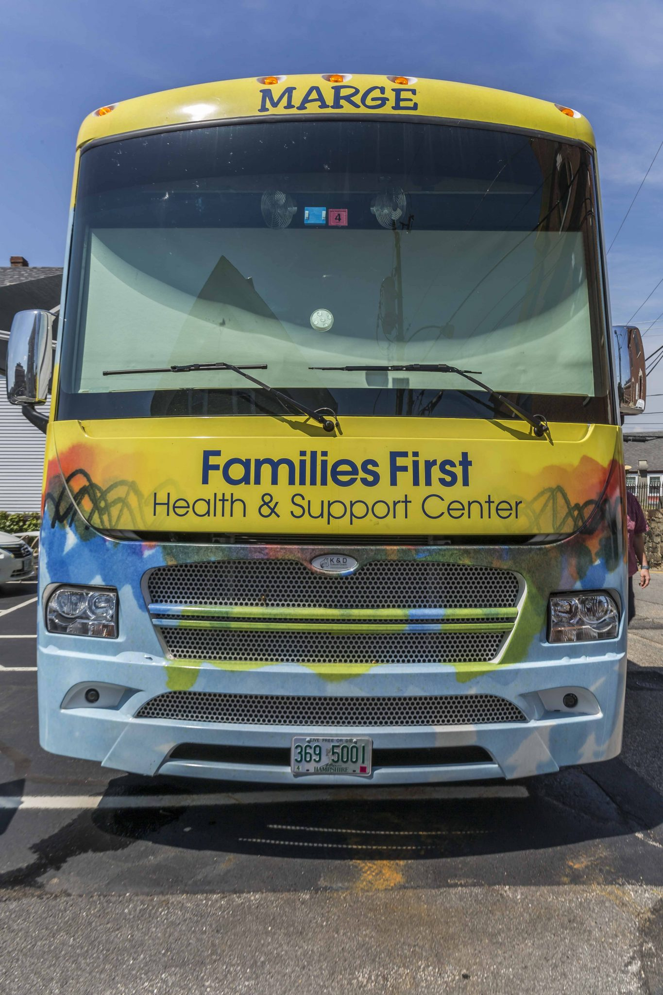 Mobile Health Care front of Van | Families First